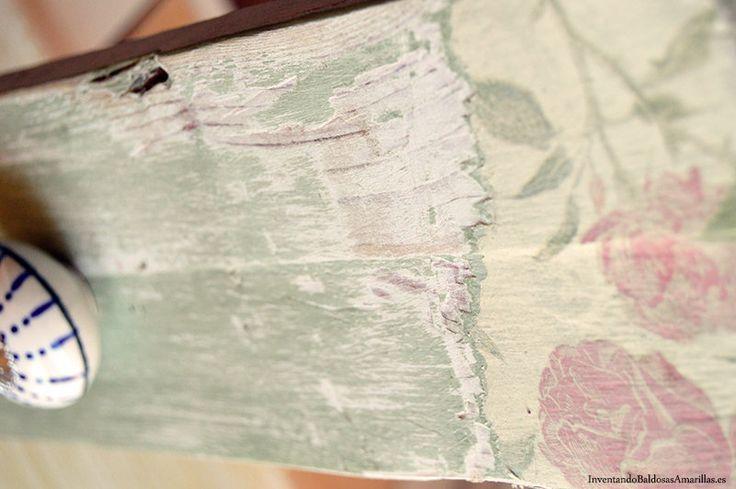 decapado con pintura chalk paint