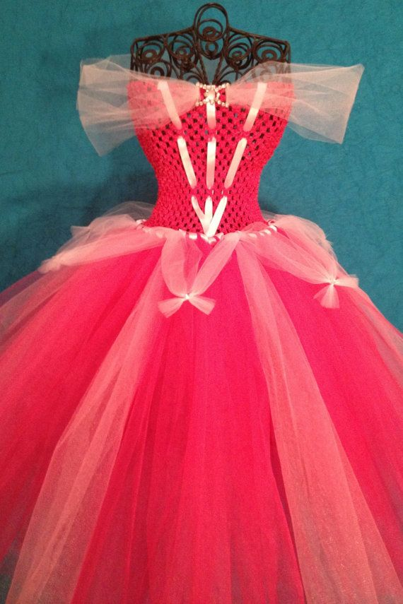 Princess Aurora Tutu Dress Girls 4T 5T by TulleBoxTutus on Etsy, $50.00