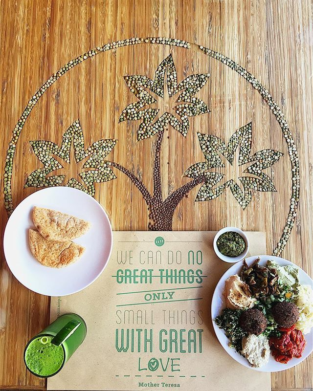 """""""Good morning from @downtoearthbali 😁. Another day another amazing breakfast. This definitely is one of my favorite dishes on their menu. The Mediterranean platter. It comes in three sizes small, medium and large. I am having the small one for breakfast and a mean green juice .. 😃💚🍃. They also have a little organic supermarket and shop so I'll be here for a while. Great place to stop by when you're here!  #bali #ubud #breakfast #vegan"""" by @cupsofgreen. #이벤트 #show #parties #entertainment…"""