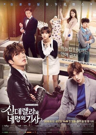 Download Drama Korea Cinderella and Four Knights Subtitle Indonesia,Download Drama Korea Cinderella and Four Knights Subtitle English.