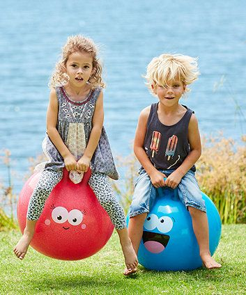 This classic bouncing toy is great for hopping around the garden or racing against friends.