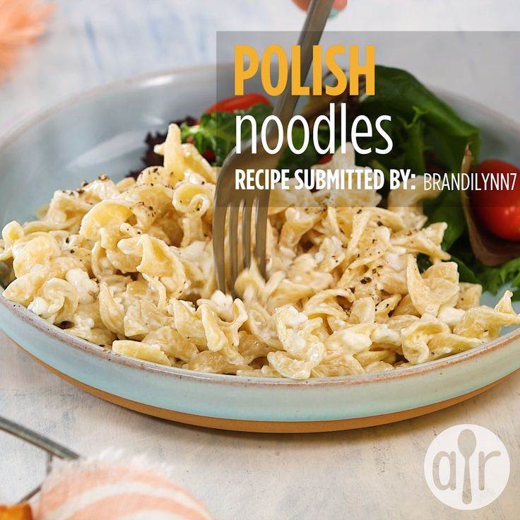 Polish Noodles Cottage Cheese And Noodles Recipe Cottage Cheese Recipes Cottage Cheese Dinner Recipes