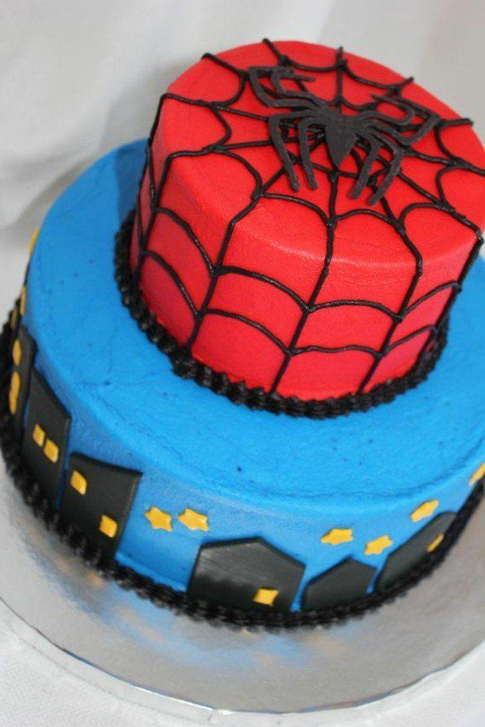 les 25 meilleures idées de la catégorie gâteau spiderman sur