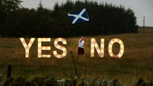 referendum. Sturgeon has confirmed she will ask for permission to hold a second referendum on Scottish independence.  Ms Sturgeon said she wanted a vote to be held between the autumn of 2018 and the spring of the following year.  The Scottish first minister said the move was needed to protect Scottish interests in the wake of the UK voting to leave the EU.