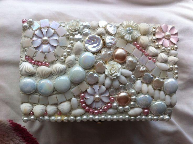 40 best mosaic jewellery box images on Pinterest Mosaic Mosaic