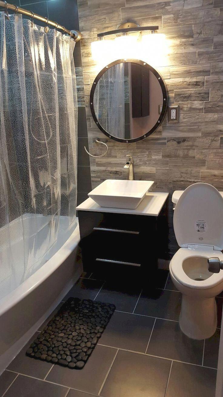 Small Bathroom Remodel On A Budget Diy Ideas With Tub Half Paint Shower Master Tile Farmhouse Bat