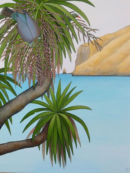 Cabbage Tree Feast by Clare Reilly