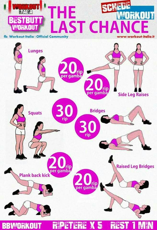 Last Chance Best Butt Workout