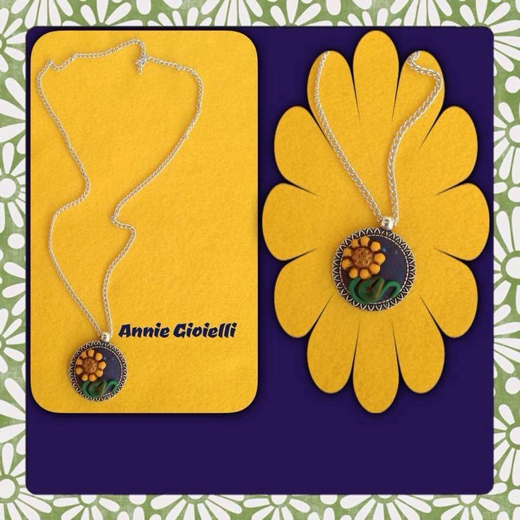 ****** Le Maddine & Maddy ****** ***** https://www.facebook.com/groups/531953423561246/ ***** #madeinfacebook #lemaddine #handmade #handcrafted #instagram #instapic #instagood #picoftheday #instacool #handmade #cool #cute #spring #sunflower #flowers #yellow #pendant #fimo #polymerclay #jewelry #jewellery #jewels #jewel #bijoux #handmadejewelry #necklace #anniegioielli @anniegioielli