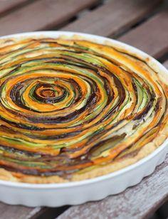 Gemüse-Tarte & das Fernsehen zu Besuch   eatbakelove