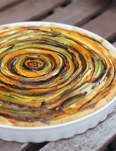 Gemüse-Tarte #Rezept
