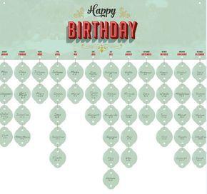 Immerwährender Geburtstagskalender