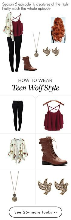 """""""Teen wolf: creatures of the night"""" by lilyflower723 on Polyvore"""