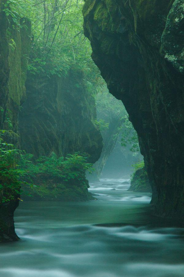 Valley of the subtle and profound, Tomakomai, Hokkaido, Japan