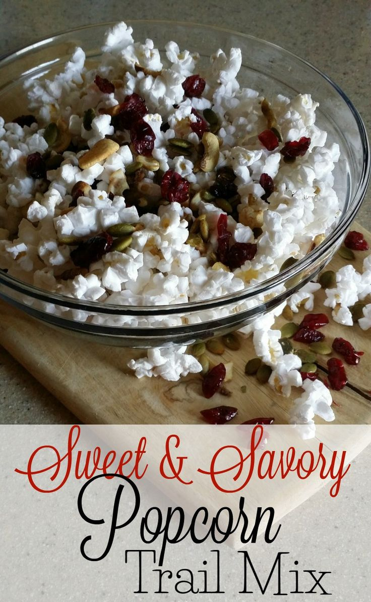 about Popcorn Trail Mixes on Pinterest | Trail Mix Recipes, Popcorn ...
