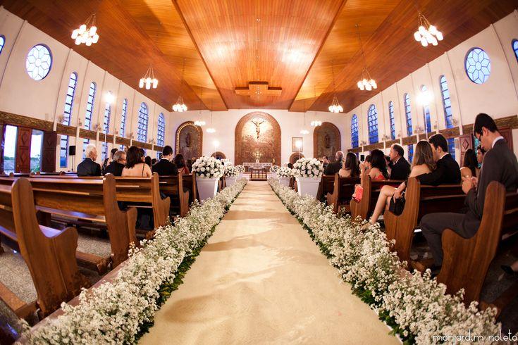 Nosso doce setembro: Decoração da igreja: mosquitinho ou áster