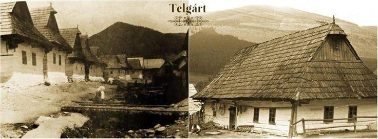 Horehronská architektúra - Telgárt, Slovakia, 40-te a 50-te roky