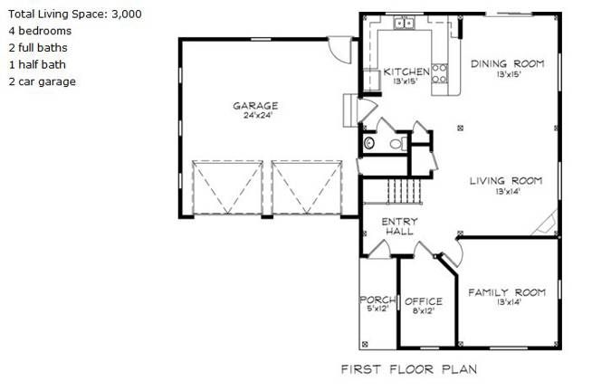 The Richmond House Floor Plan By South County Post Beam Floor Plans House Floor Plans Post And Beam