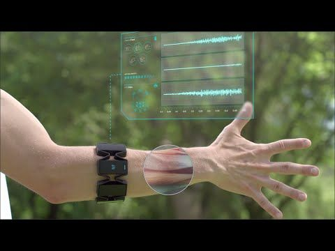 Myo Gesture Control Armband - Wearable Technology by Thalmic Labs. In Prototype as of 1/2015. Use arm band to control tech. Will still need considerable dexterity to use but maybe for someone with fine motor difficulties