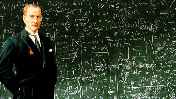 Atatürk'ün Matematikteki Büyük Başarısı Ve Önemi, Atatürk'ün matematik sevgisi ve matematik alanında yaptığı çalışmalar onu başarıya