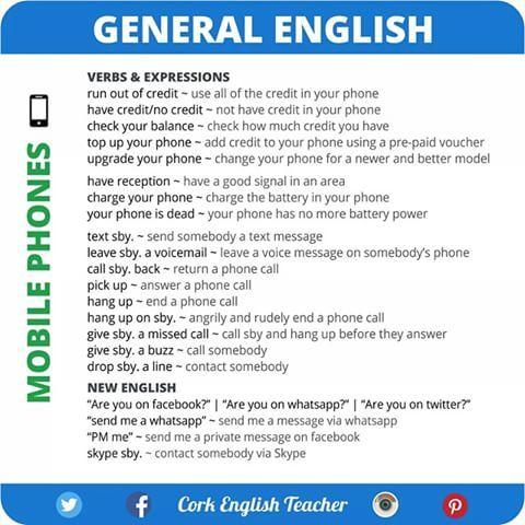 #English #elt #vocabulary #expressions #inglés #inglese