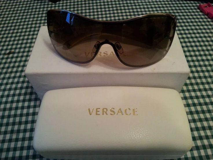 Lentes De Sol Versace Dama Originales - Bs. 40.000,00