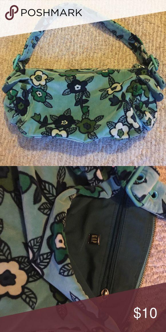 Gap purse Fuzzy/velvet purse, super cute GAP Bags Shoulder Bags