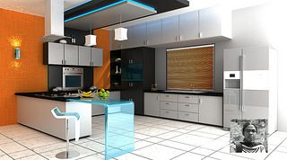 Interior designing by Roshni , the student of Vismayam college of art and media