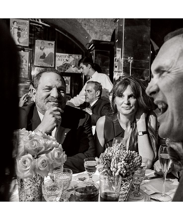Harvey Weinstein, Jemima-Goldsmith and Adrian Anthony Gill. ADREAM