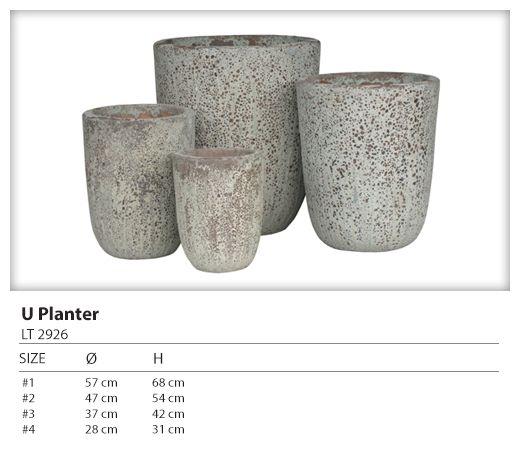 Graceville Imports Ancient U planter