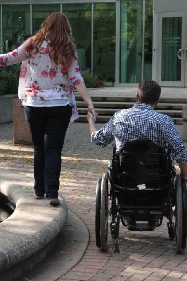 Wheelchair engagement photography #wheelchair #wheelchairengagement #engagement