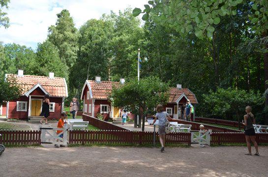 Astrid Lindgrens Värld in Vimmerby, Sverige