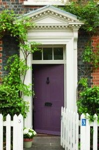 Farrow and Ball front door contest! don't forget to enter!