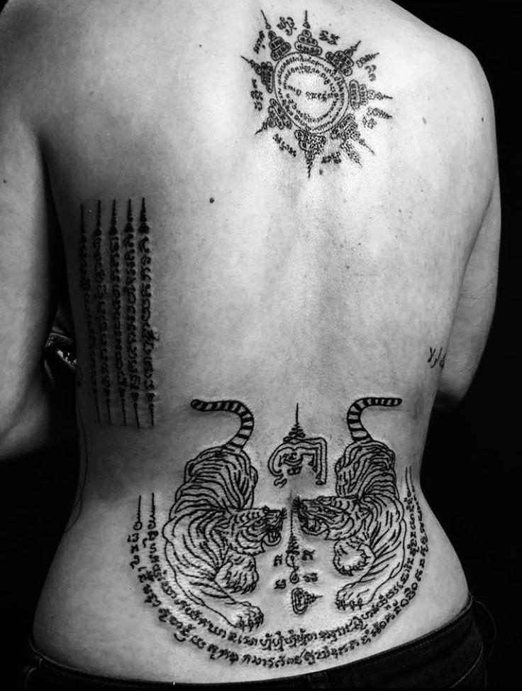 Symboles et significations du Muay Thai Tattoo   – Holiday tattoo