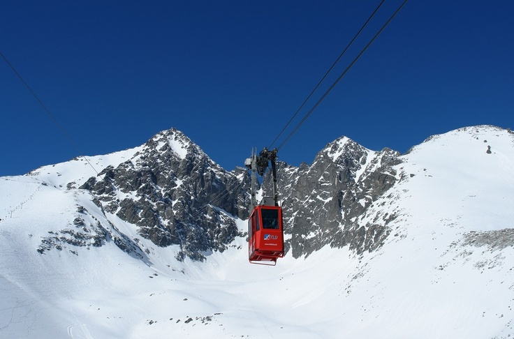 Cable car to Lomnicky peak in High Tatras