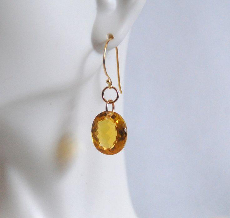 Huge 30.5 ct. Orange Citrine Oval  Dangle Drop Earrings- Fine Jewelry-Wedding Jewelry- Bridal Jewelry -Bridalal accessories-Citrine Jewelry by ferozasjewelry on Etsy