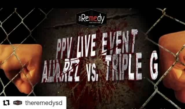 """#Repost @theremedysd (@get_repost) ・・・ Fight Night! Tonight At the Remedy Canelo Alvarez vs. Gennady """"Triple G"""" Golovkin  September 16, 2017 ****Limited Seating available*** No cover Must purchase food and drink while in attendance  #sandiegobeer #chef #winelover#winelivingpulse #topsandiegorestaurants #topcitybites #chef #winelover#wine#sdwinebar#sandiegoeatsliving #sdpulse.city #CanelovsGennady #sandiego #sandiegoconnection #sdlocals #sandiegolocals - posted by The Remedy Gastropub…"""