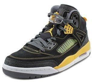 Nike Jordan Spizike Men Round Toe Leather Black Basketball Shoe.