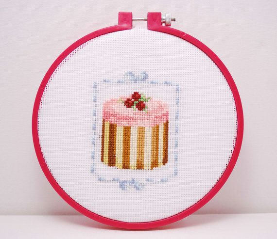 House warming gift Completed Cross stitch by MeandMamaCreations