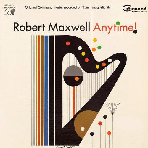 "Robert Traxon Graphic Design: Project Thirty-Three: Robert Maxwell ""Anytime"" (1967"