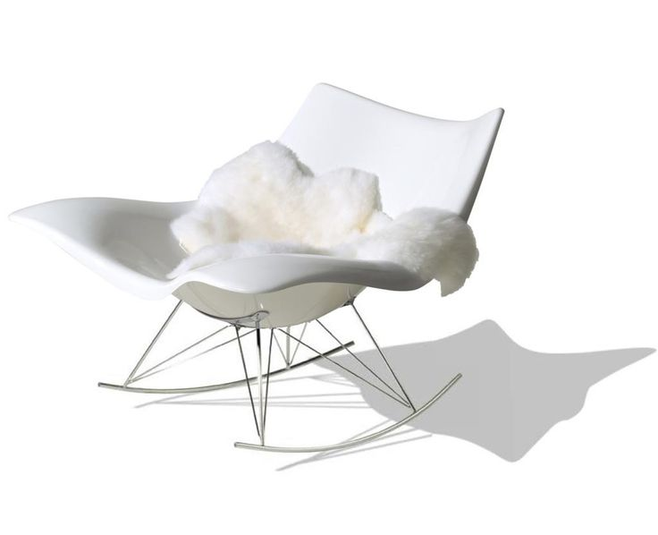 The Stingray chair - a new rocking chair. New office furniture for design lovers