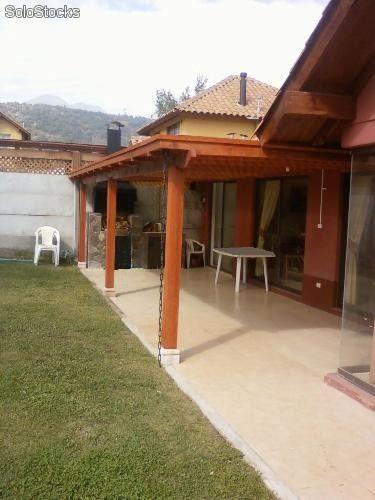 Fotos De Instalacin De Terraza Y Cobertizo Santiago   Beautiful ...