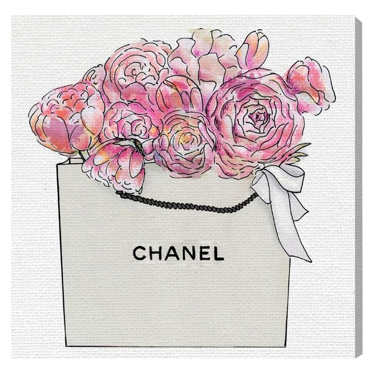 Oliver Gal Market Day Flowers Canvas Art - 14773_
