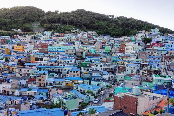 Scorcio del Gamcheon Village