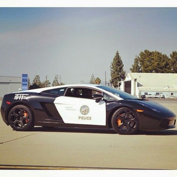 Lamborghini Gallardo - Los Angeles Police Department. I have this car in ''need for speed racing rivals''