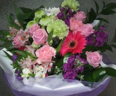 Pink, Purple Bouquet