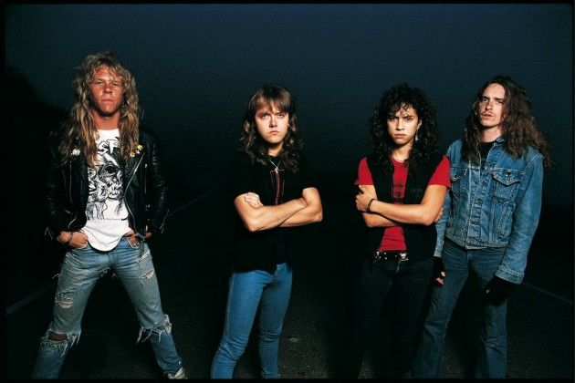 Metallica 1986 - The year Master of Puppets was released