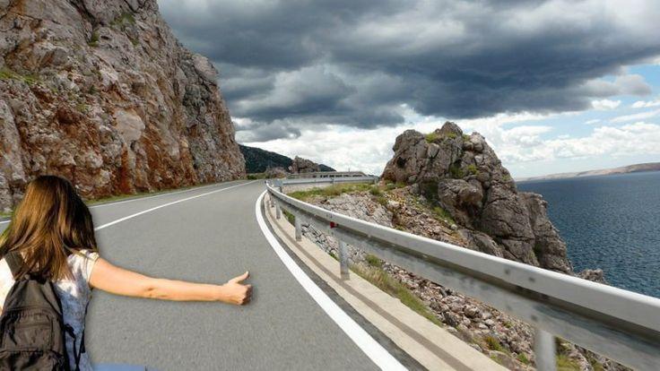 Podróż autostopem w Chorwacji