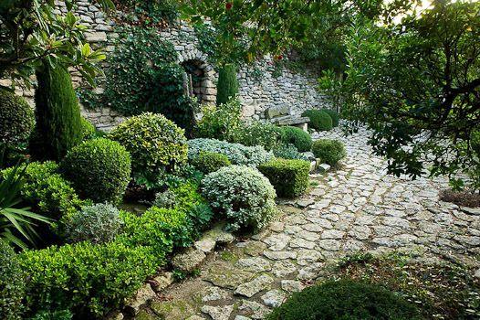 Nicole de Vesian - Google Search. Kelly: like the stone edge of the path. worn, irregular stone