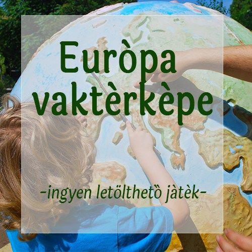 Európa vaktérképe